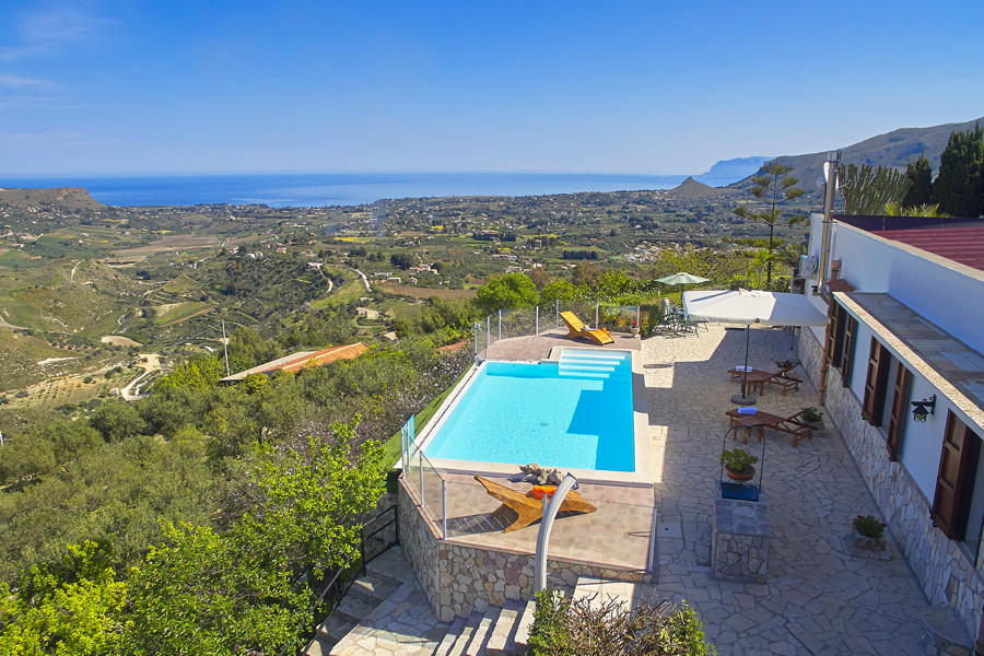 Villa Knoll, Scopello, Sicily