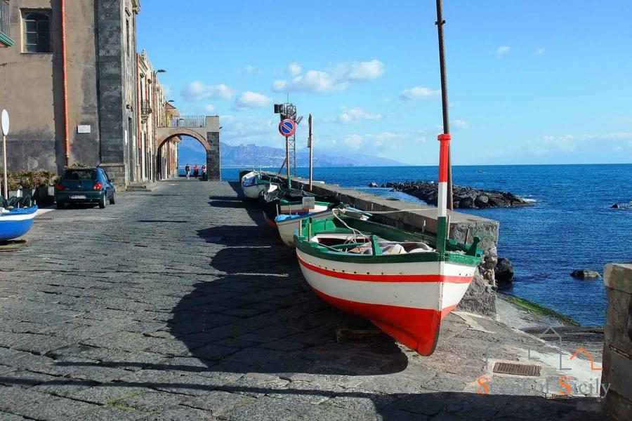 Boats in Torre Archirafi, Sicily