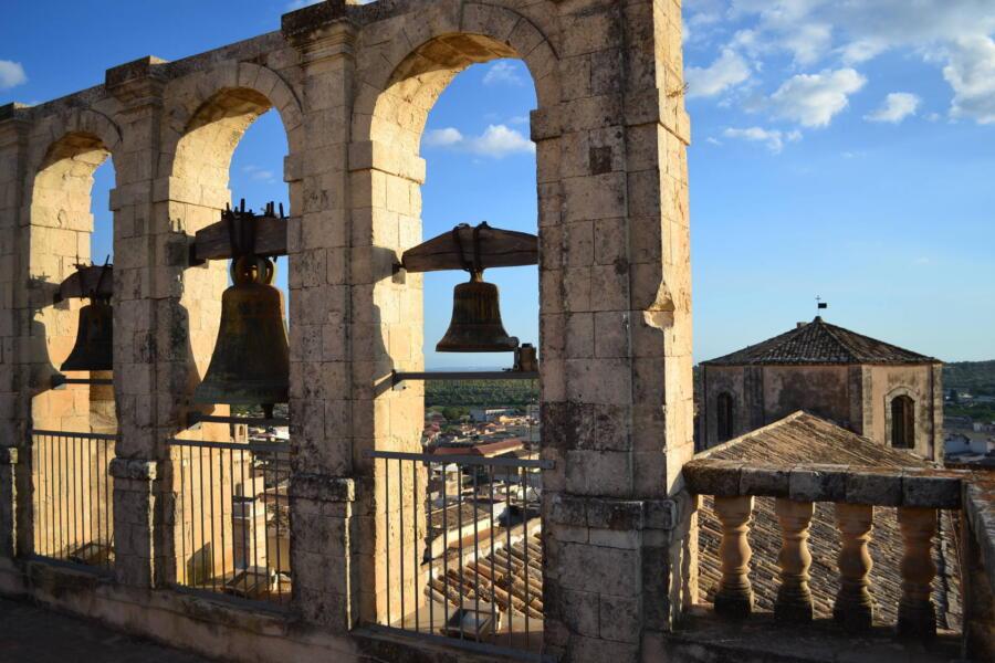 The bells ring joyfully in baroque Sicily.