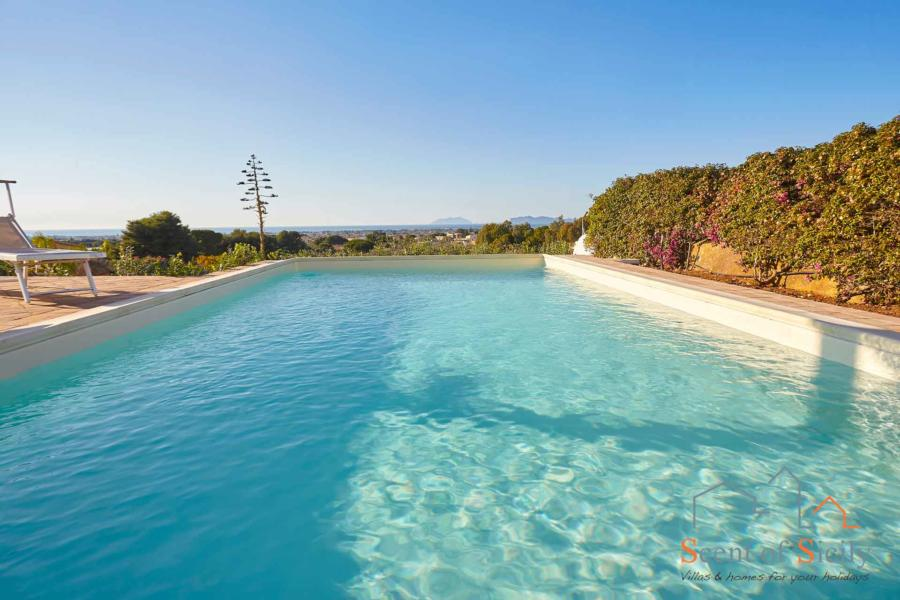 Swimming pool of Villa Dorotea Marsala Western Sicily