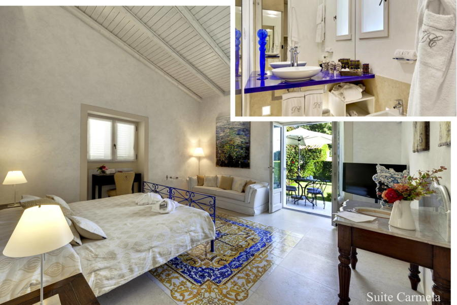 Donna Corally Suite Carmela, Syracuse, Sicily