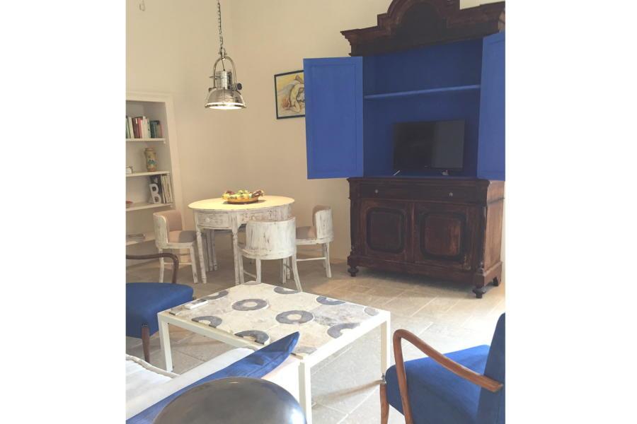 Ortigia House Living Room, Syracuse, Sicily