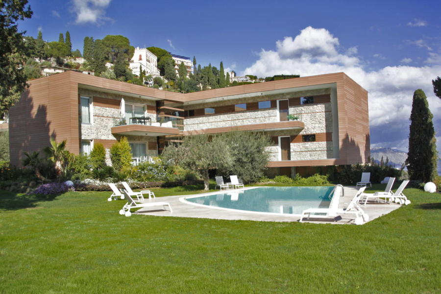 Taormina, Sicily, Apartement Bellevue the elegant residence in which it is located