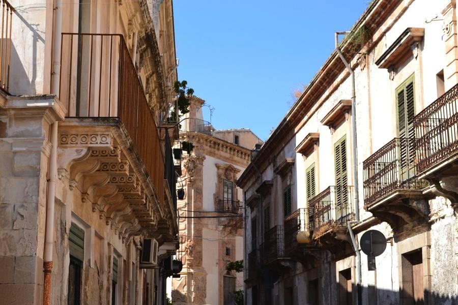 Sicily, Scicli view