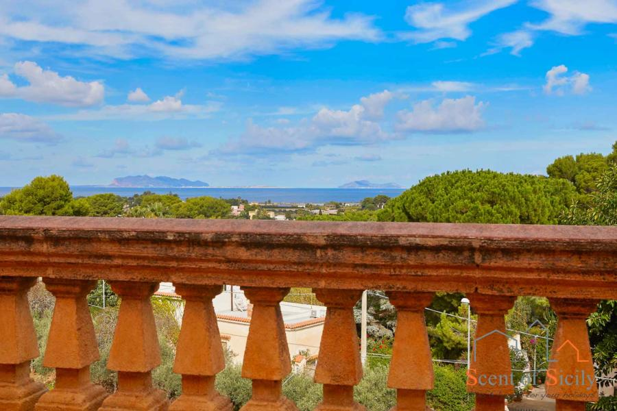 Villa Maria, Marsala, Sicily view from the terrace
