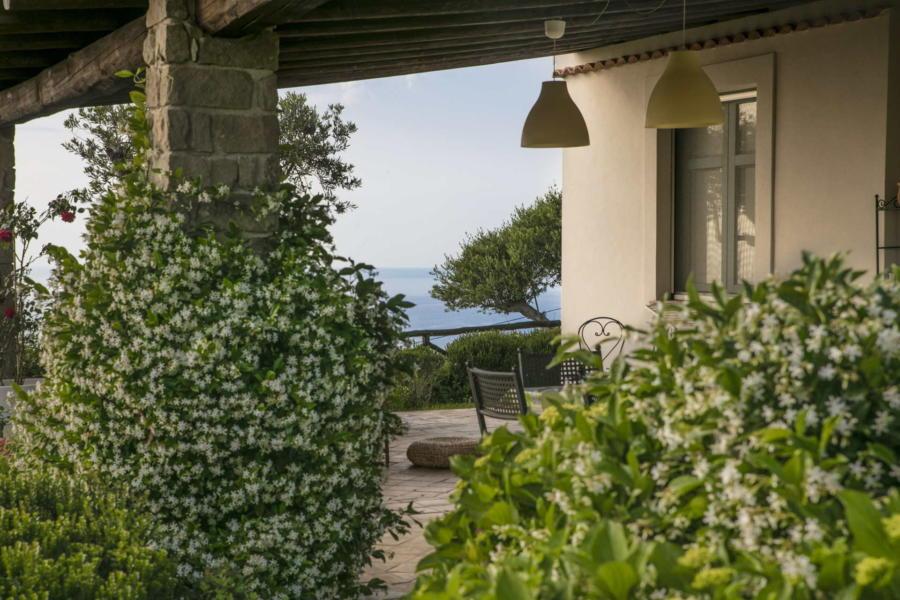 Sea view form Villa Sunrise, Capo d'Orlando, Notnern Sicily