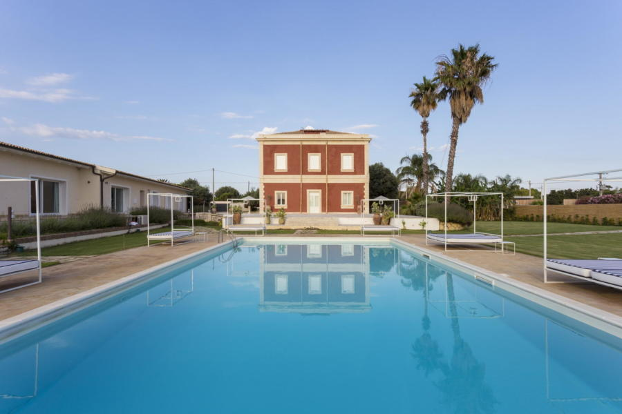 Villa White Herone, Syracuse Sicily