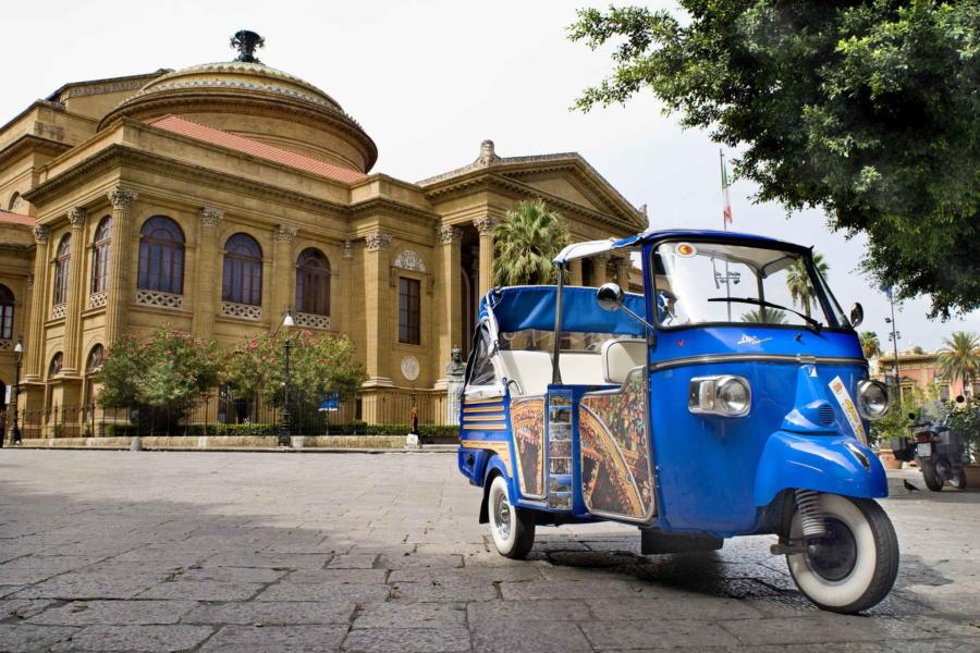 Palermo Theatre Massimo, Sicily