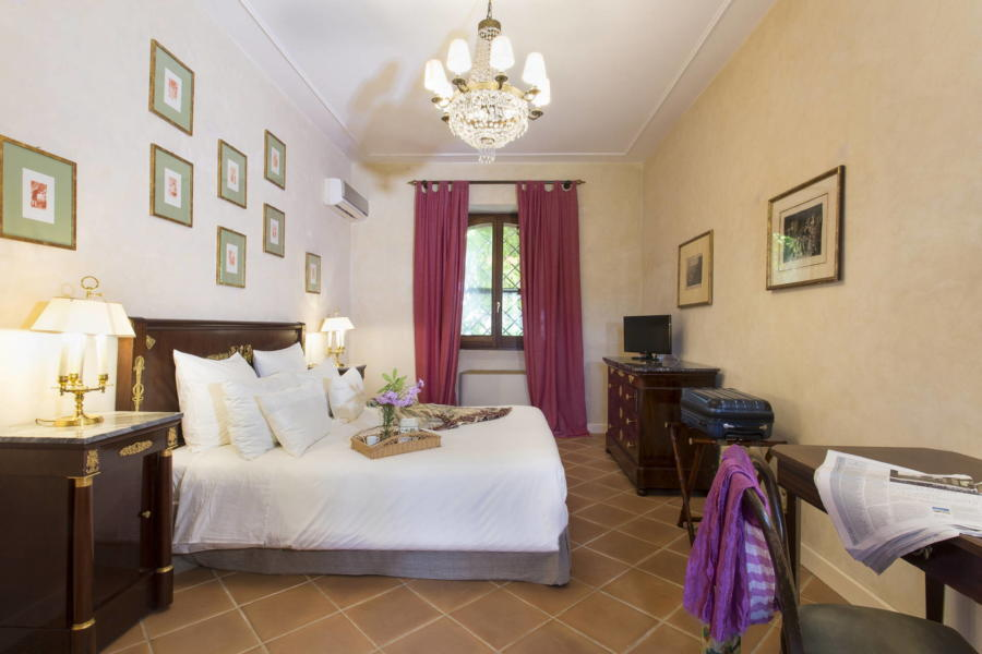 Classic double bedroom in Casale dell'Ulivo Syracuse Scent of Sicily
