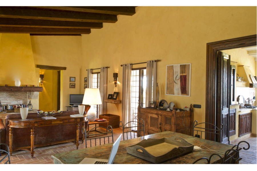 Living room for sweetest dreams in Villa Bouganville Castelvetrano Sicily