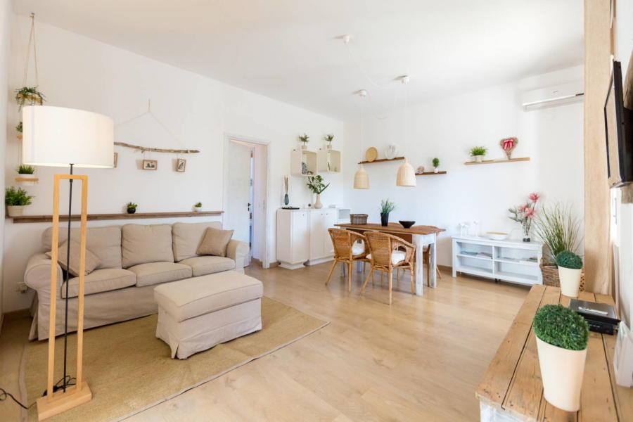 Living room, Villa Arenella, Sicily