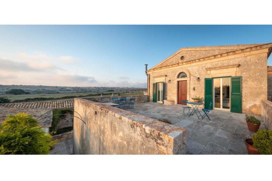 View from the terrace in Sicilian Heritage Ragusa Scent of Sicily