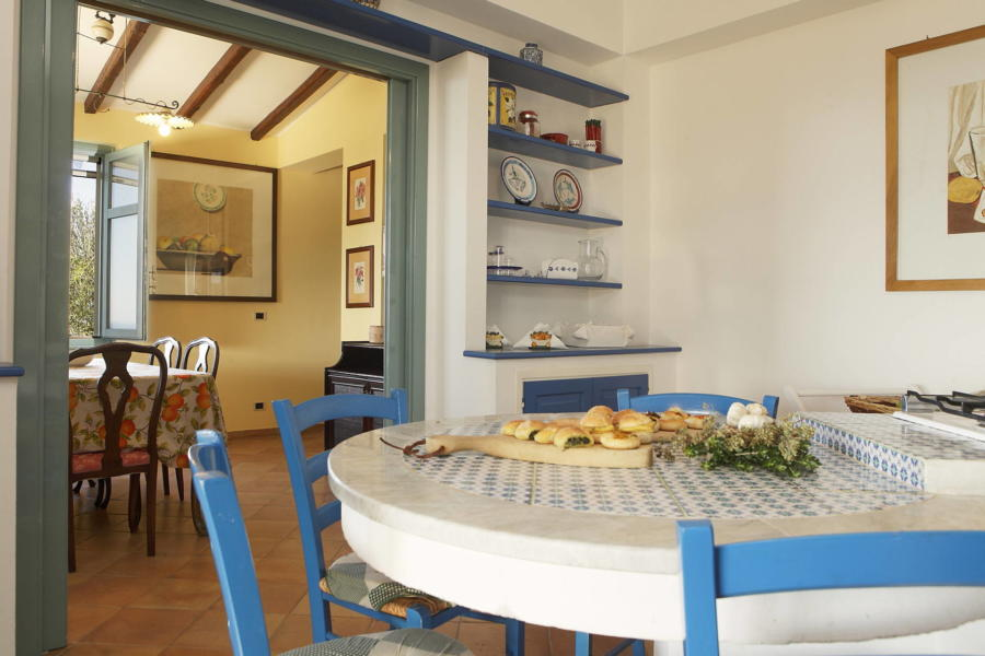 From the kitchen in Villa Sunrise, Capo d'Orlando, Notnern Sicily