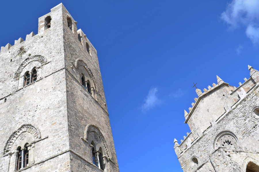 The medieval town of Erice