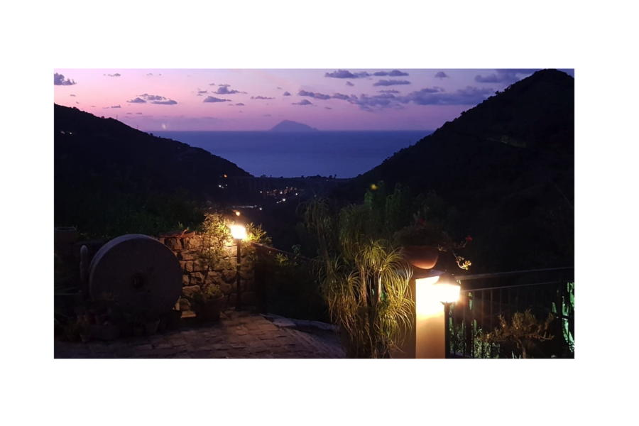 Villa Stefaia night view