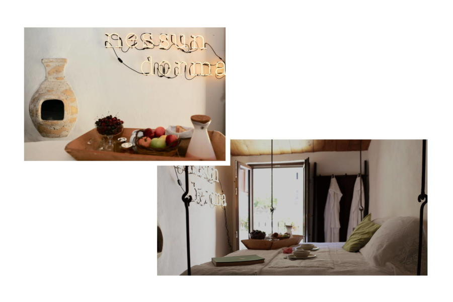 Bedroom in the SPA Magical House, Gratteri,  Sicily
