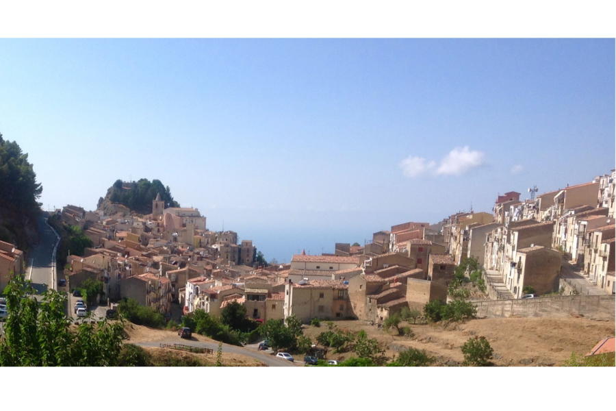 View of the village, Gratteri, Sicily