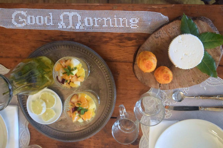 Romantic breakfast in Magical House, Gratteri, Sicily