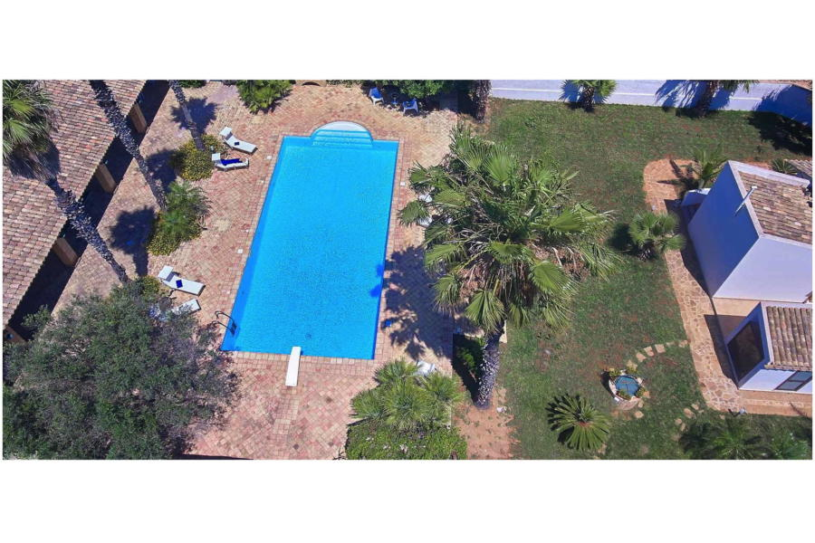 Pool from the sky - Villa Lory Marsala Western Sicily