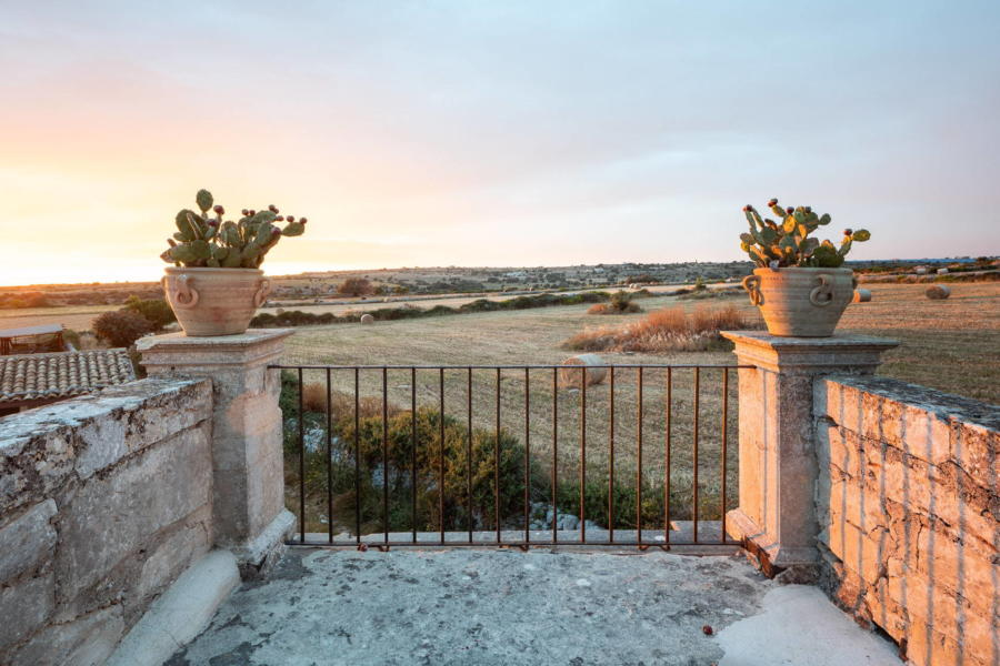 Countryside view from Sicilian Heritage Ragusa Scent of Sicily