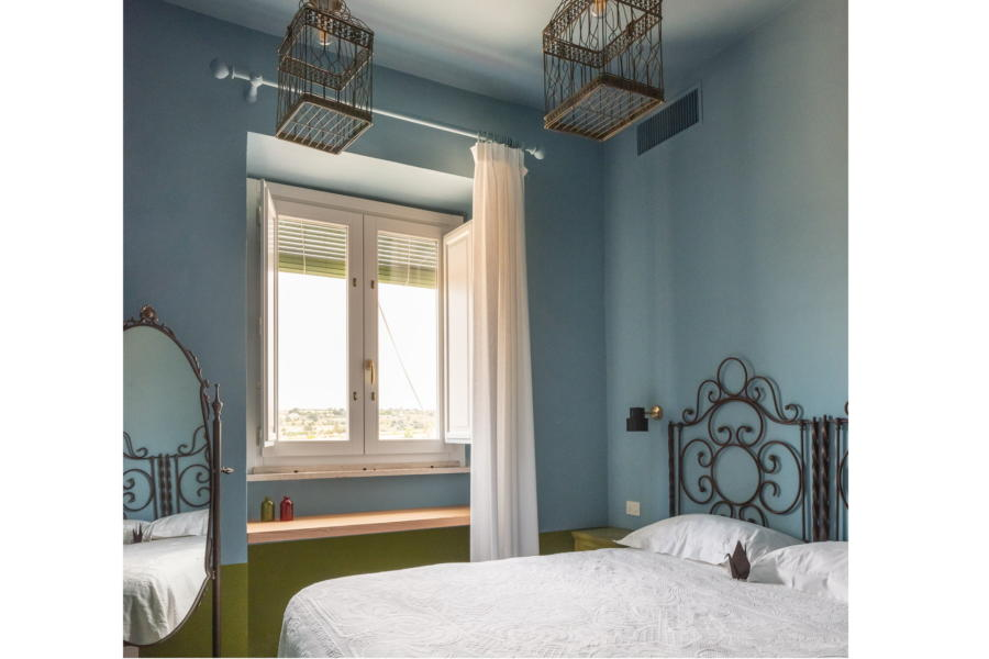 One beautiful bedroom in Sicilian Heritare Ragusa Scent of Sicily