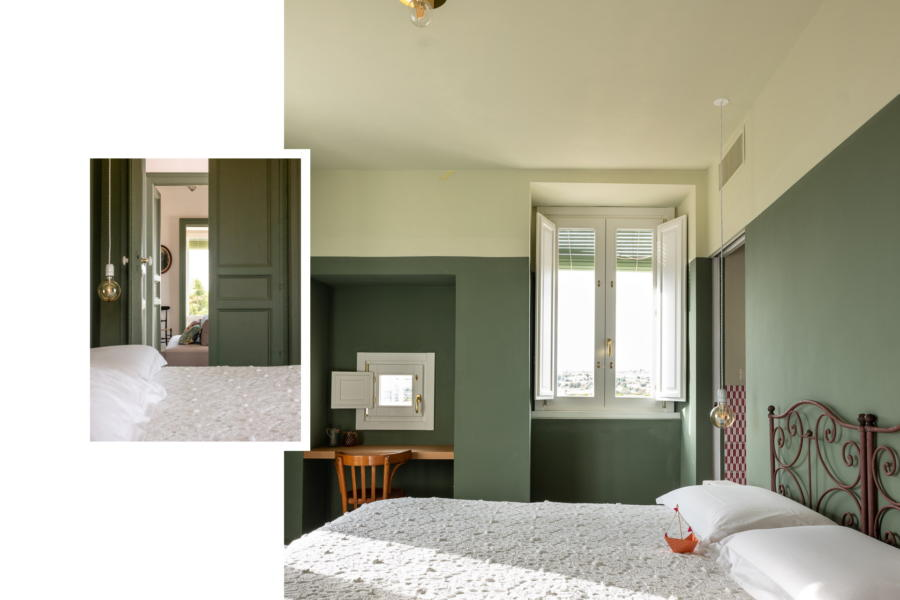 Refined double bedroom in Sicilin Heritage Scent of Sicily