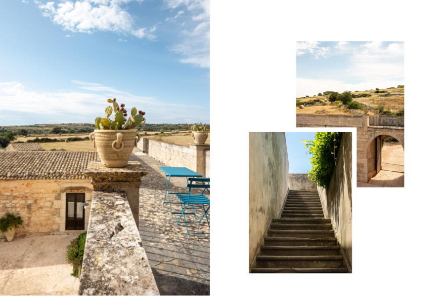 To the first floor Sicilian Heritage Ragusa Scent of Sicily