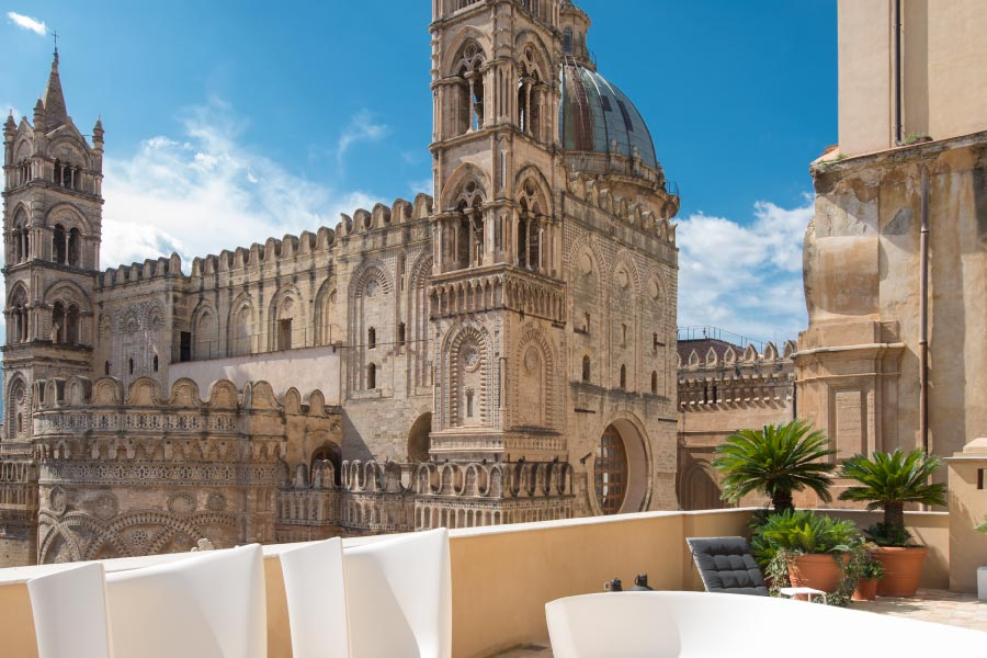 Artale Terrace in Palermo