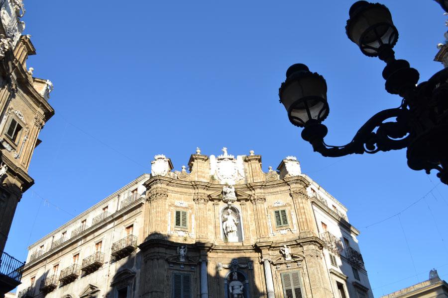 View quattro canti of Palermo