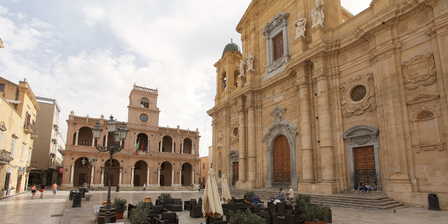 The beautiful Cathedral of Marsala