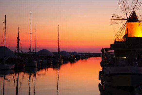 Marsala_Stagnone-Sunset