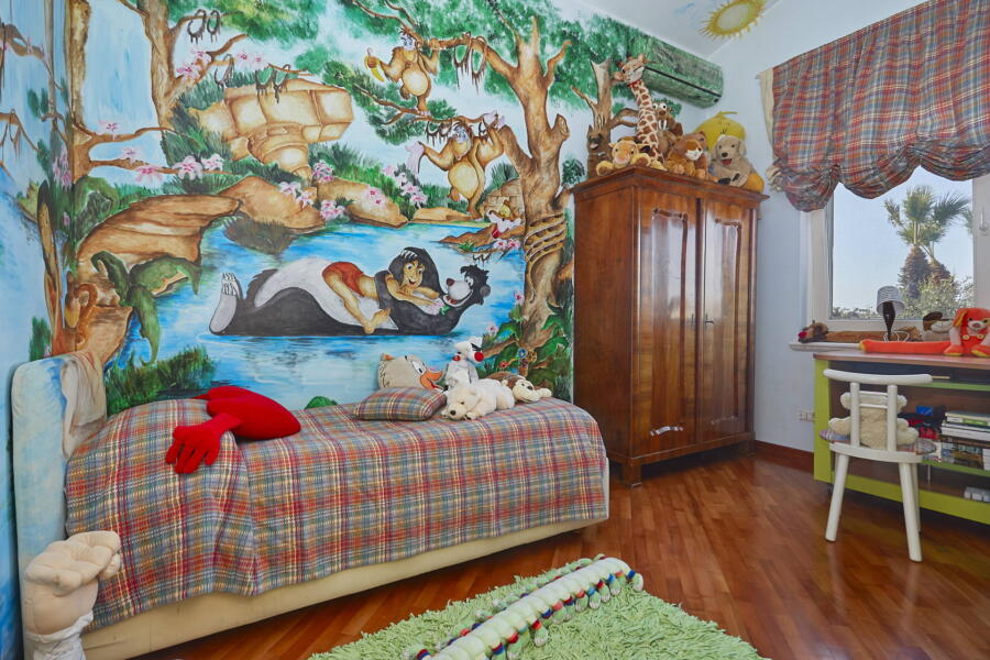 The single bedroom dedicated to children's dreams