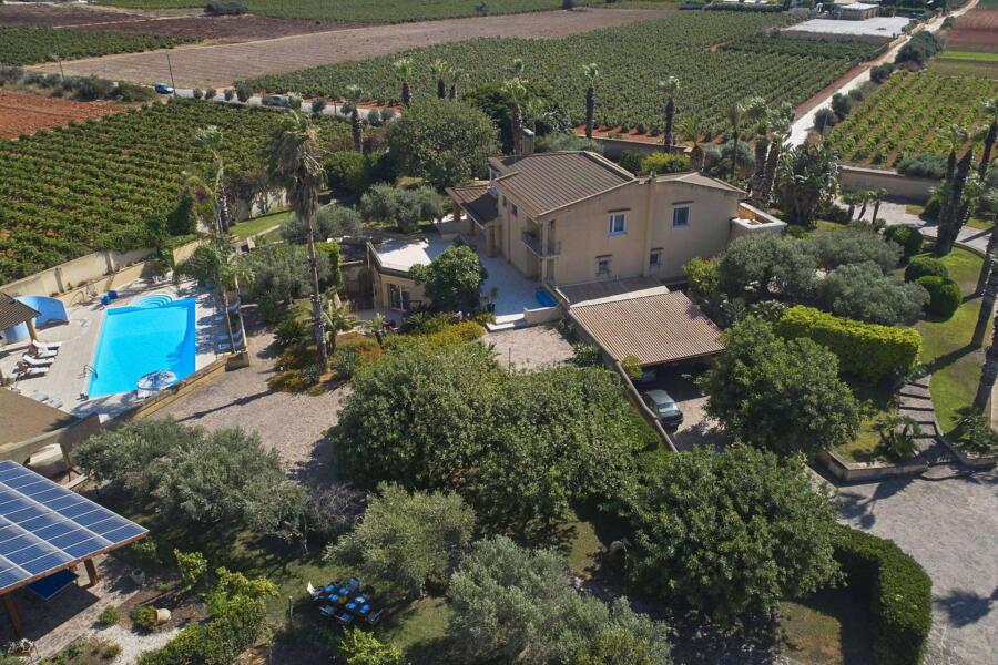 Villa Lady Pearl, Marsala Western Sicily