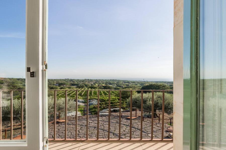 Sicily, Villa Sciara green view