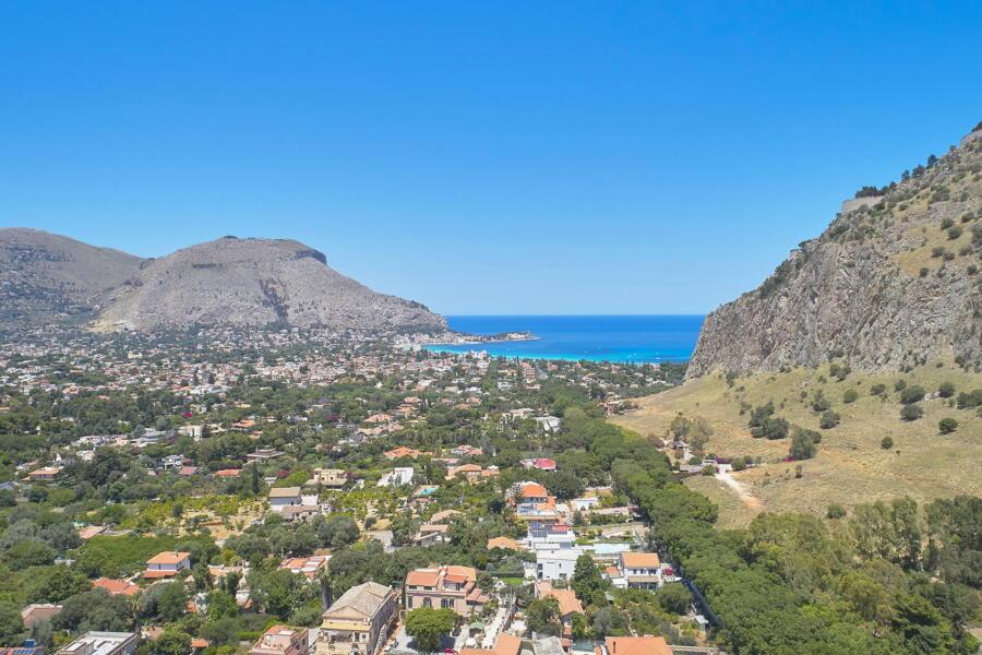 Villa  Drem area view, Mondello Sicily