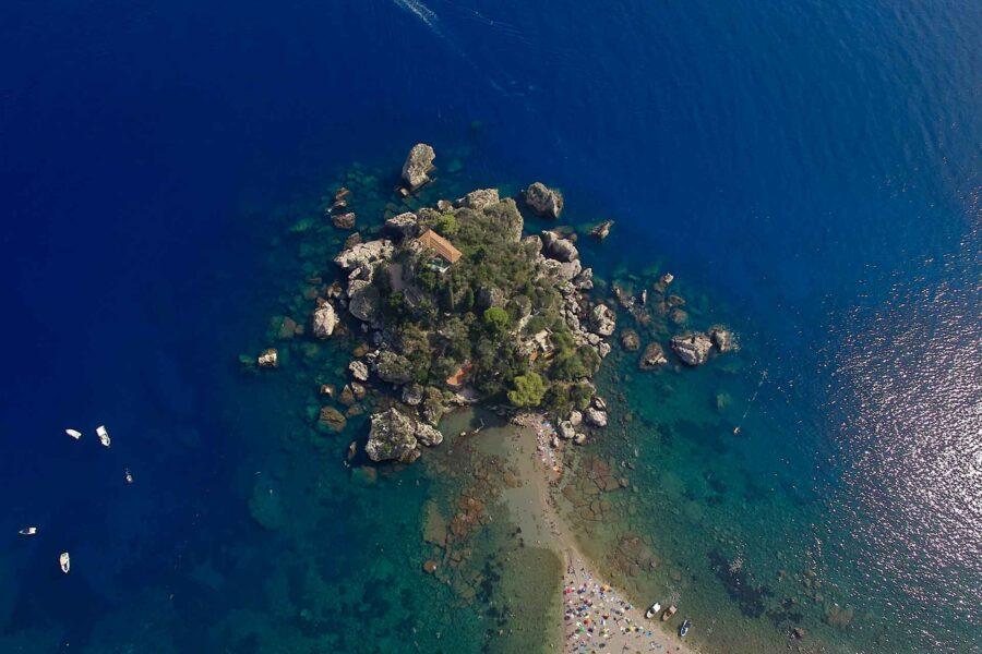 Sicily, Taormina Isola Bella