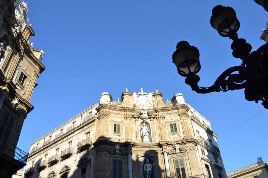 Sicily, Palermo Quattro Canti