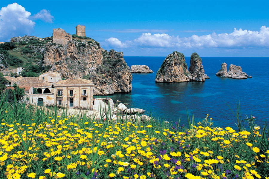 The beautiful tonnara of Scopello