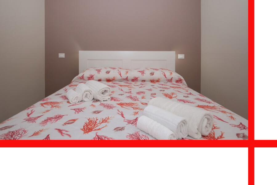 "The ""coral"" double bedroom en-suite"