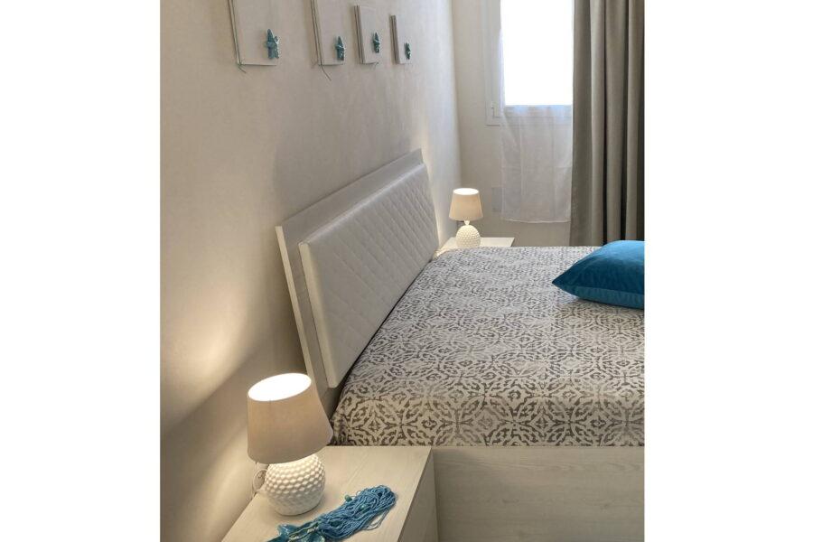 """The first floor """"azzzurro"""" double bedroom"""