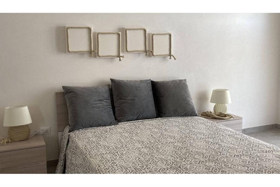 """The ground floor """"corda"""" double bedroom en suite"""