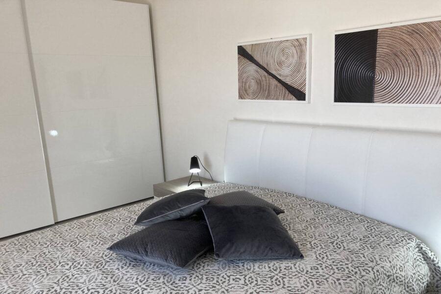 "The first floor ""legno"" double bedroom"